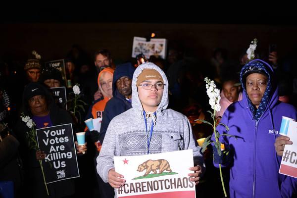 Steve Knight vigil Feb 23