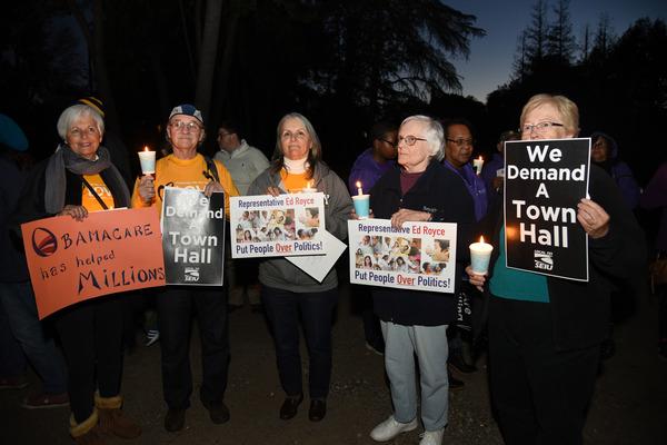 Ed Royce vigil Feb 23