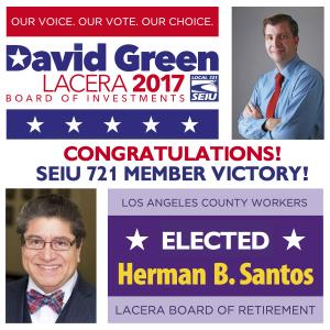 David green Herman santos
