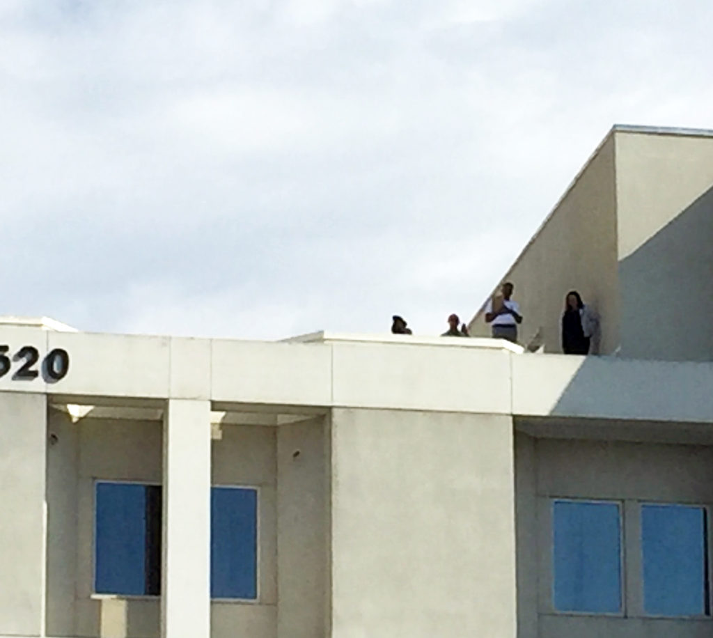 Management Spying from the Roof