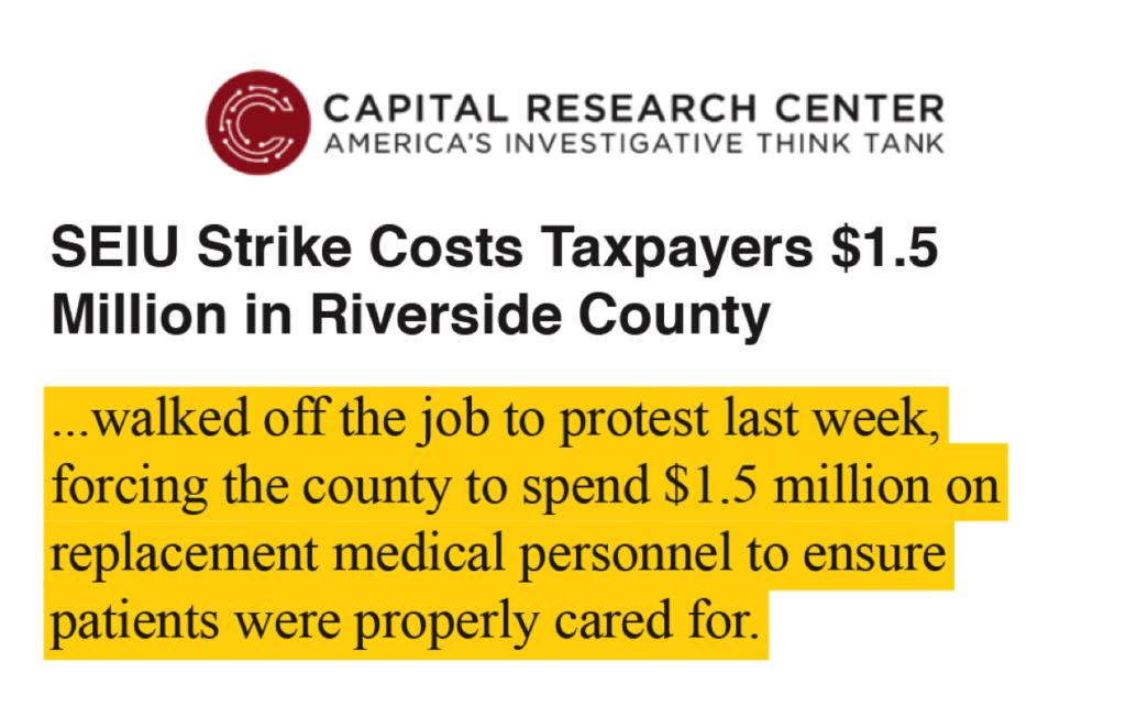 Capital Research Center Headline
