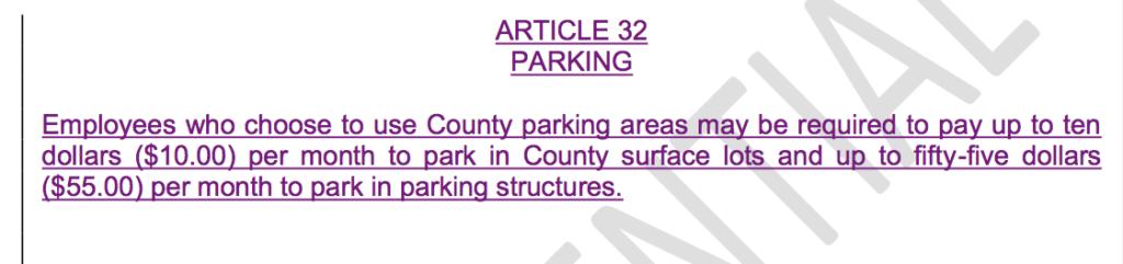 RivCo Parking Fees