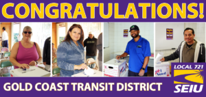 Gold Coast Transit District Contract Win