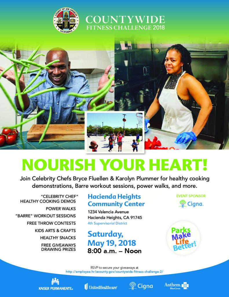 Countywide Fitness Challenge – Nourish Your Heart! - SEIU