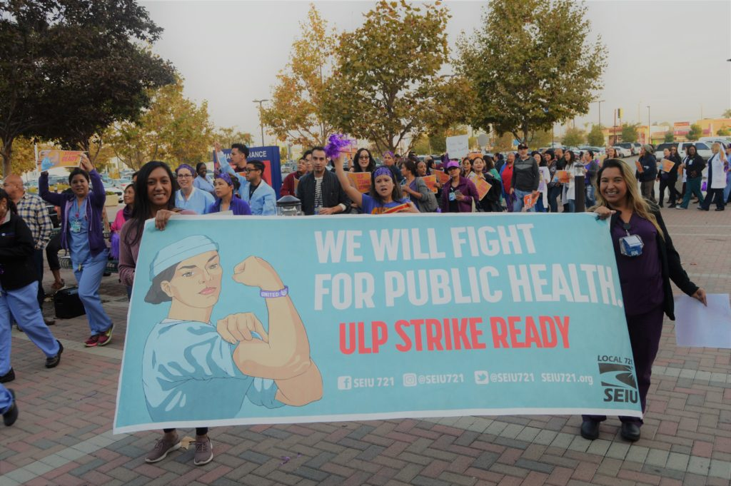 1,000+ RNs Hold Mass Actions at Hospitals Across LA County
