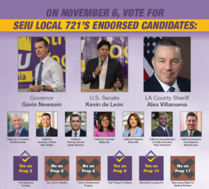 SEIU 721 2018 Election Guide