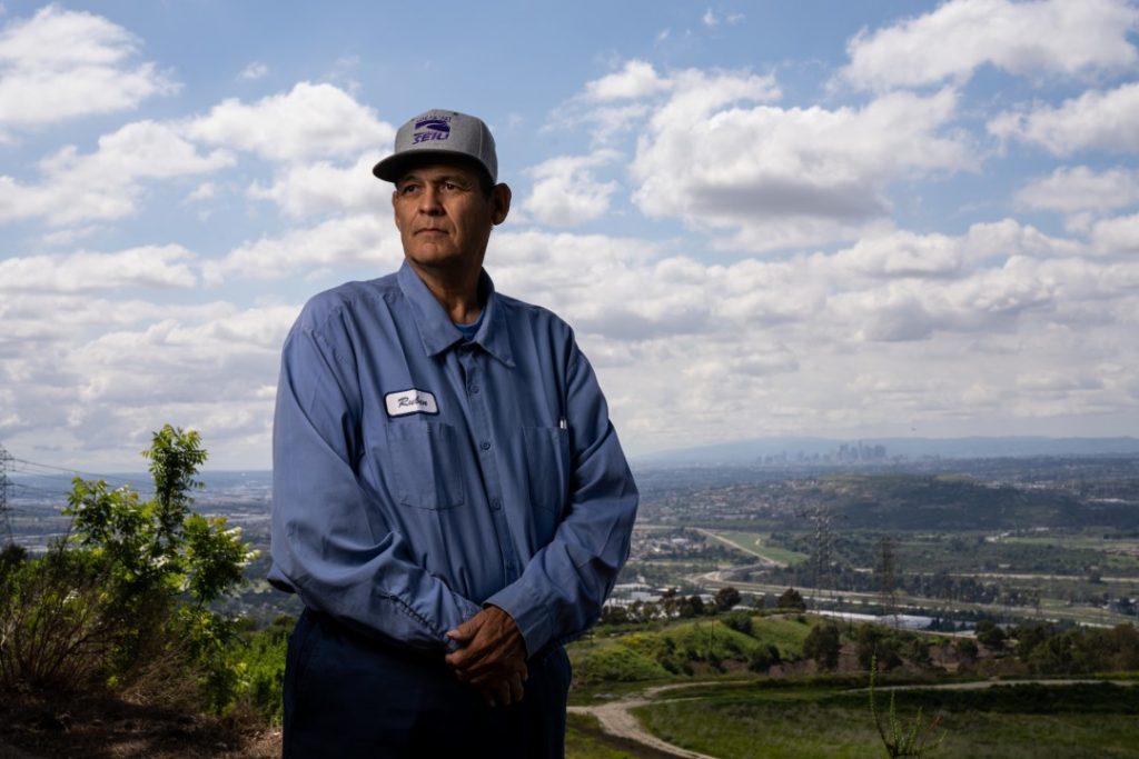 LA Times Portrait of Ruben Rios